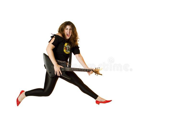80 chick rocker s στοκ εικόνα