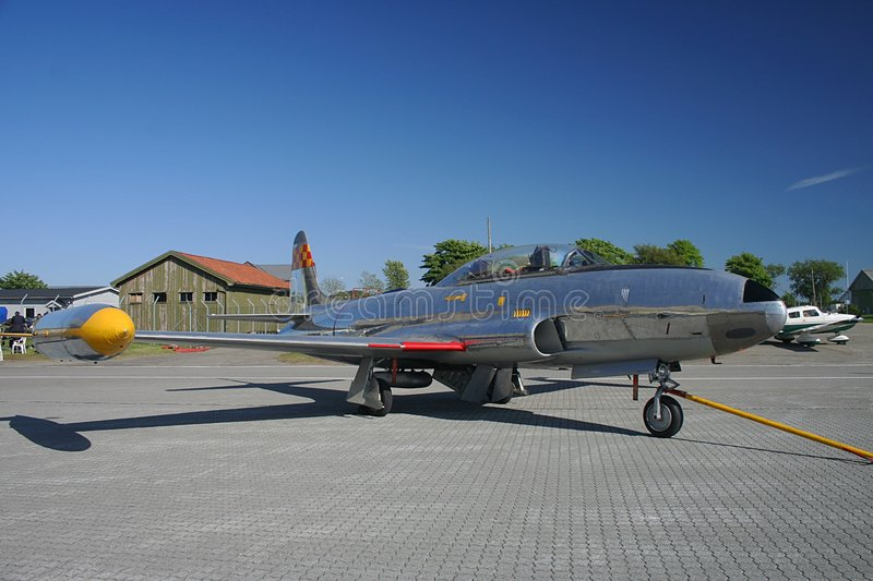 80 Lockheed t33 f obraz stock