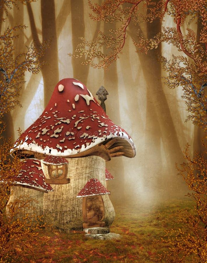 81 fantazi sceneria royalty ilustracja