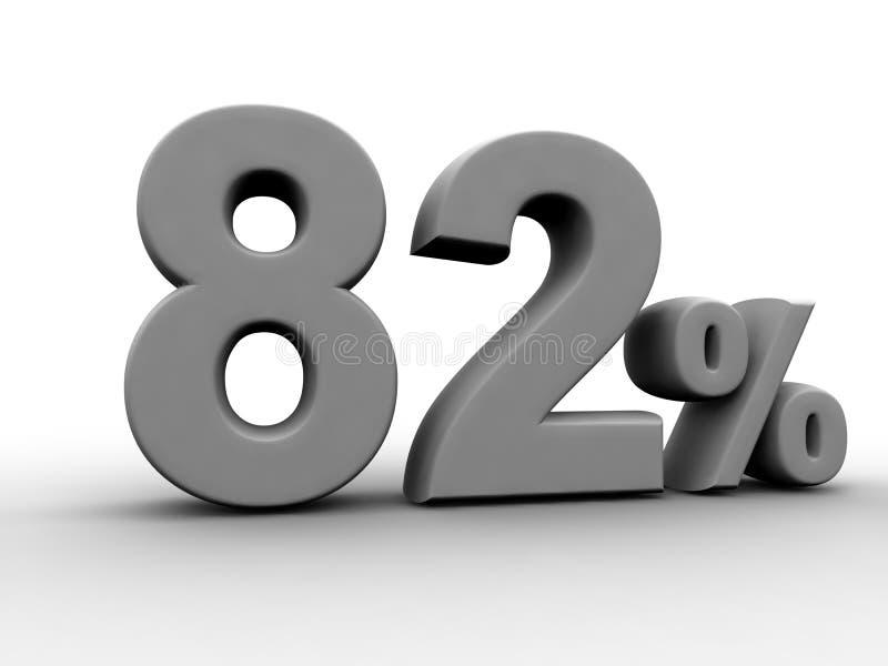 82% 皇族释放例证