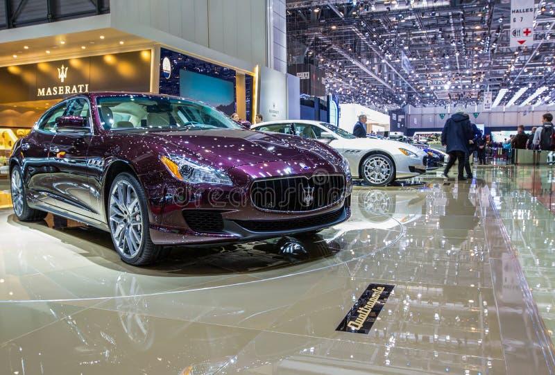 83rd Genebra Motorshow 2013 - Maserati imagem de stock