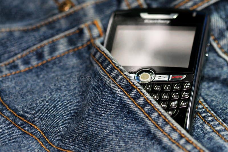 8820个黑莓移动电话 免版税图库摄影