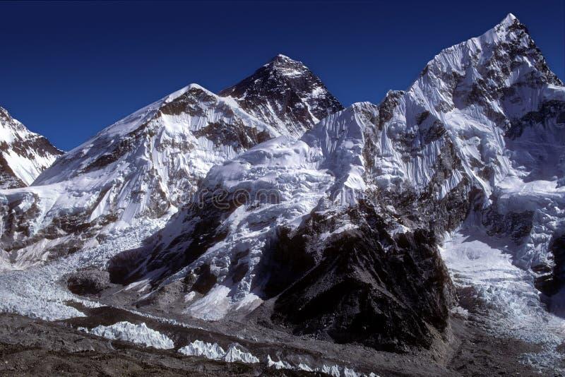 8848 Everest m Nepal zdjęcia stock