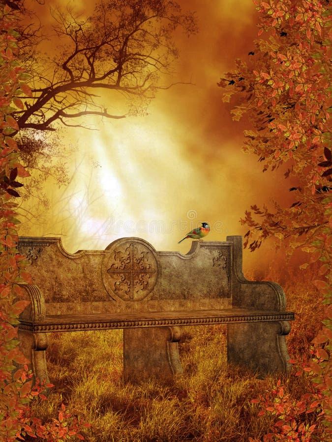 89 fantazj sceneria ilustracja wektor