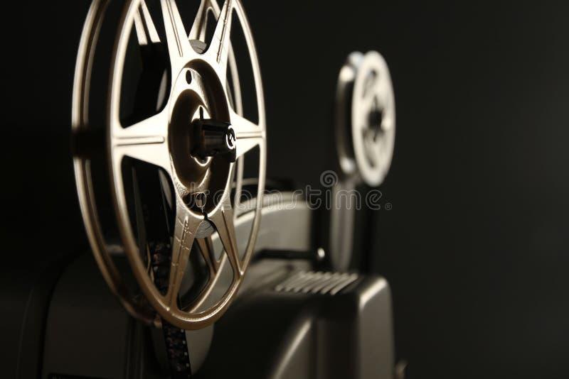 8mm de Spoelen van de Projector stock foto's