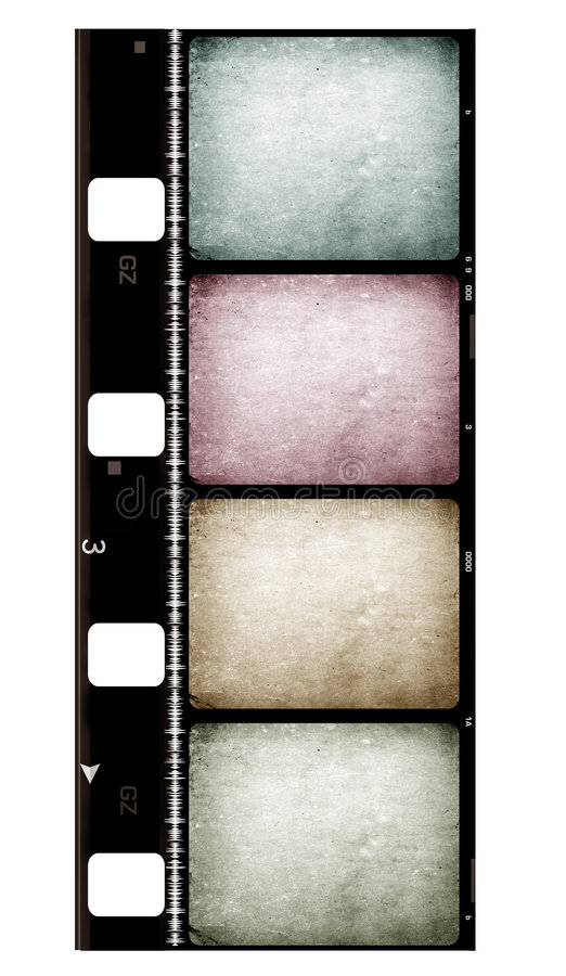8mm Film royalty free stock photo