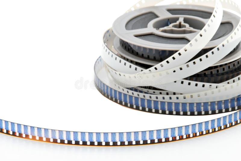 8mm Film-Bandspulen lizenzfreie stockfotografie