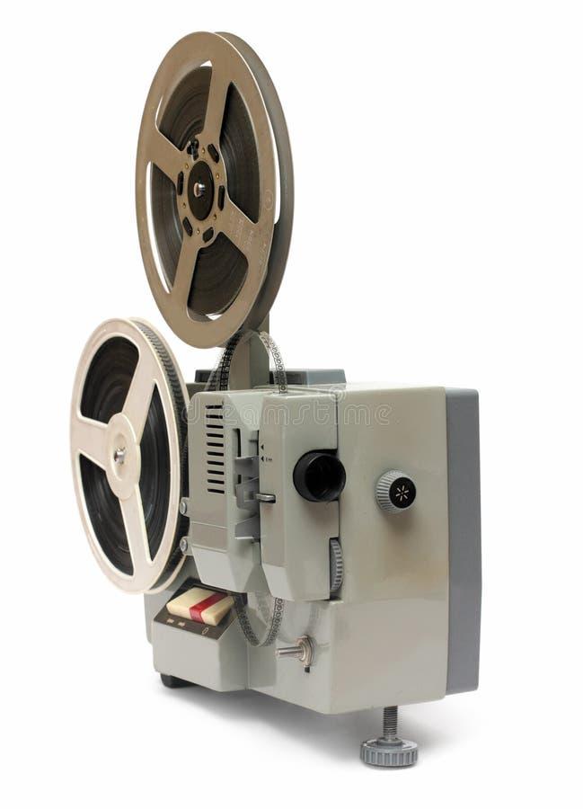 8mm gammal projektor arkivbilder