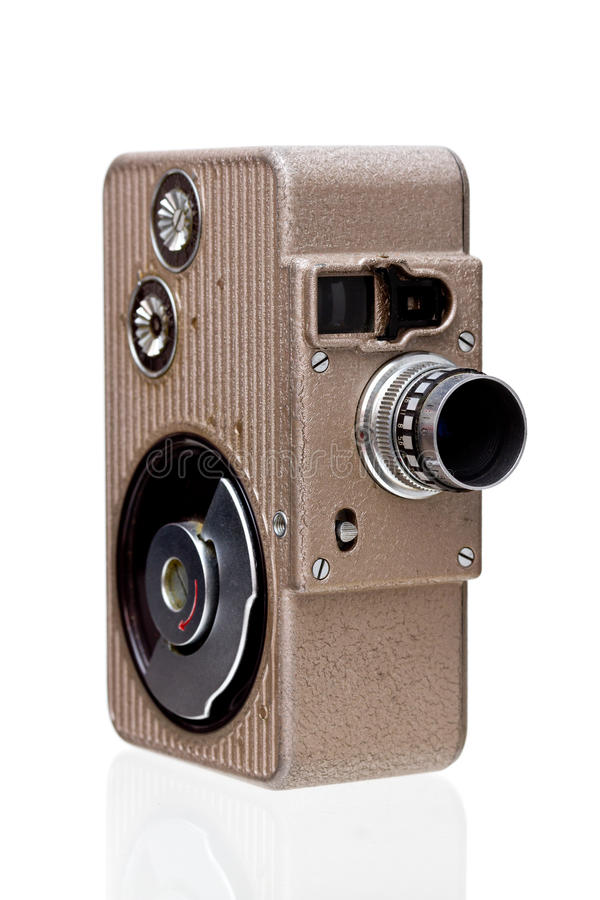 Download 8mm Movie Camera stock image. Image of eight, movie, retro - 18869063