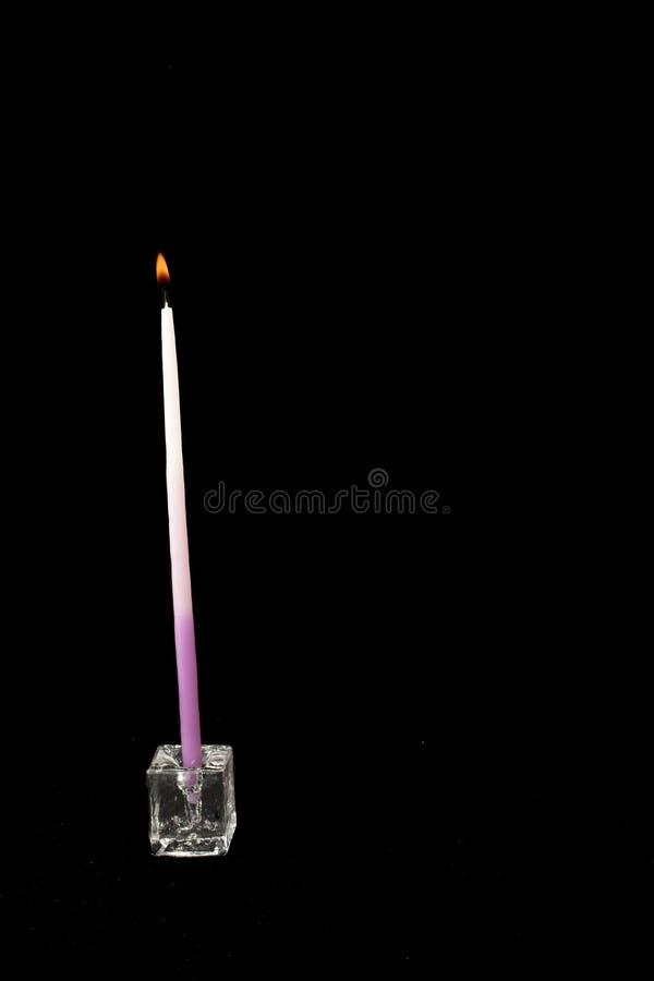 9个蜡烛 免版税图库摄影