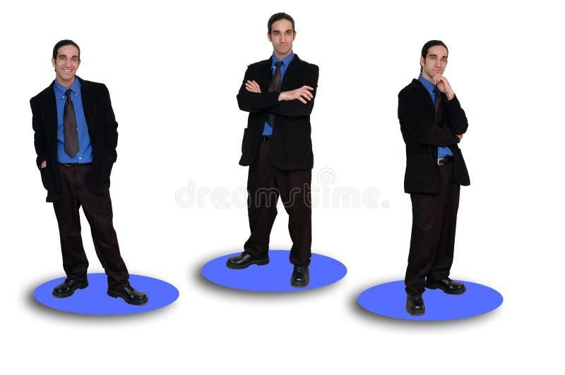 9企业小组 库存照片