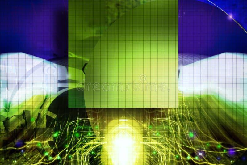9抽象背景 向量例证