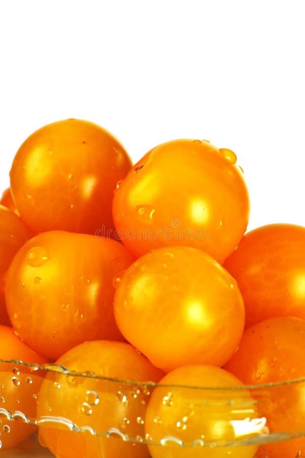 9 ντομάτες κερασιών στοκ φωτογραφίες με δικαίωμα ελεύθερης χρήσης