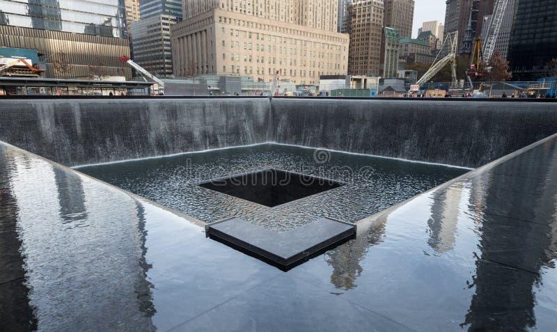 9/11 μνημείο στοκ φωτογραφία