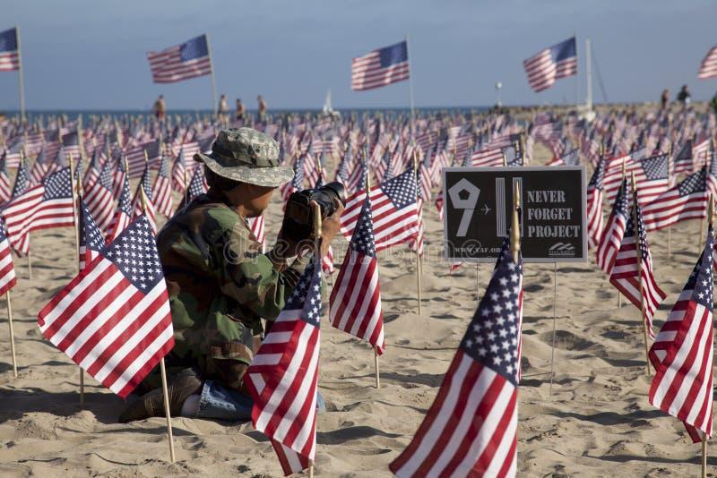 9 11 удостоя стоковая фотография