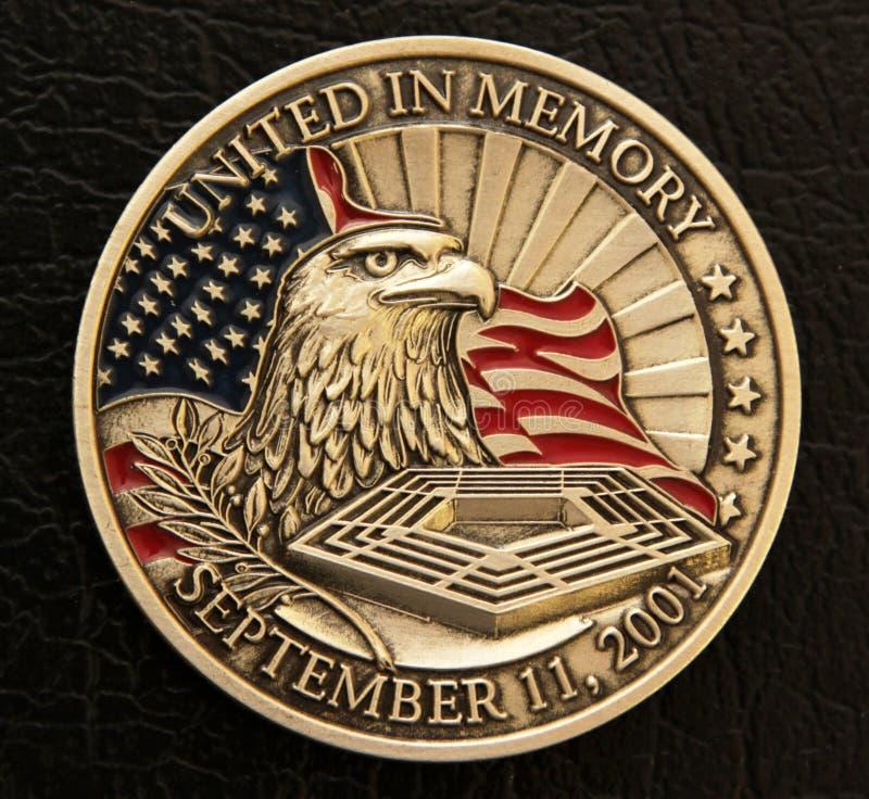 9/11 de moeda memorável