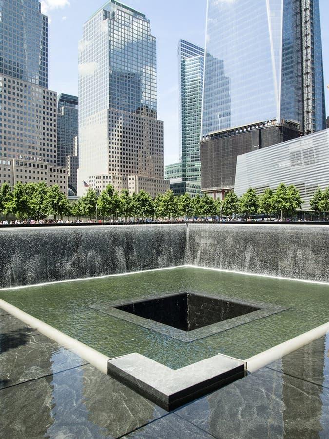 9/11 Pamiątkowego park obrazy stock