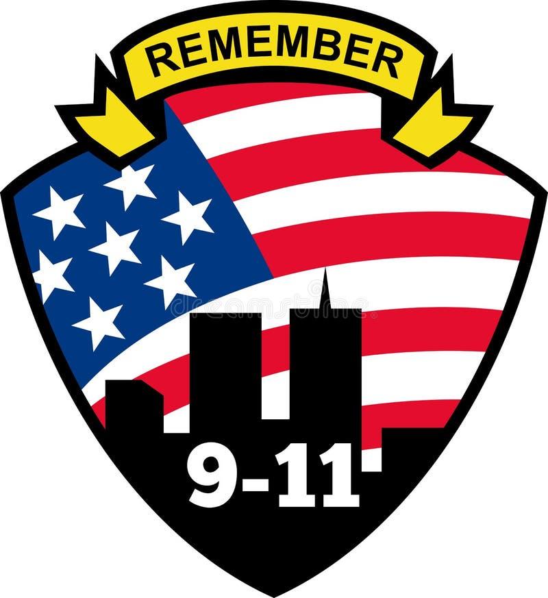 9 11 pamiętają wtc ilustracji