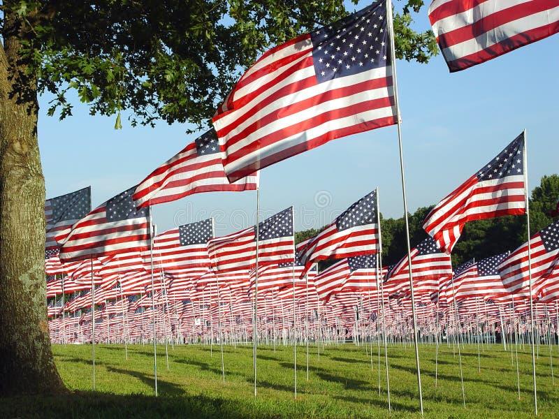 9 11 som minns royaltyfri foto