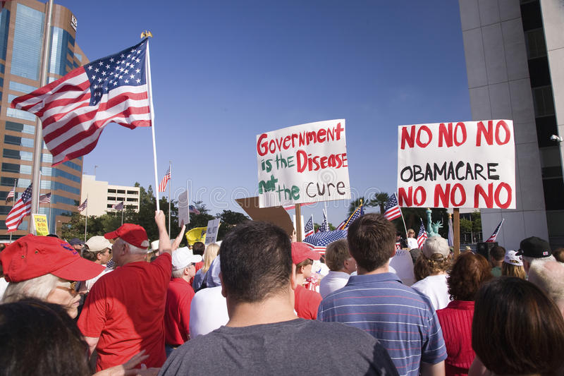 Download 9-12 Rally and Tea Party, editorial stock photo. Image of america - 27064633