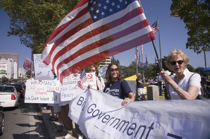 Download 9-12 Rally and Tea Party editorial photo. Image of demonstration - 27065731