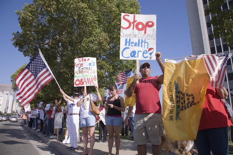 9-12 Rally and Tea Party, stock photography