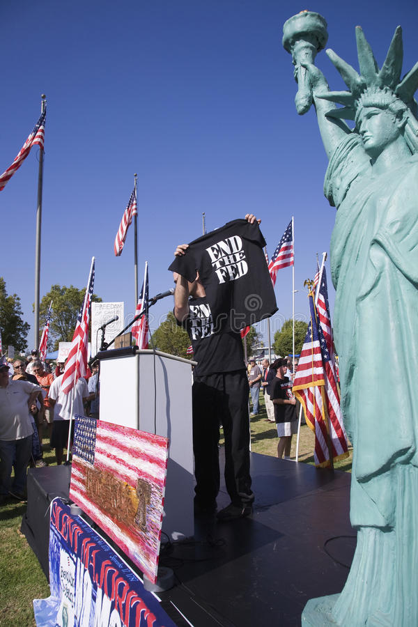 9-12 Rally And Tea Party, Editorial Image