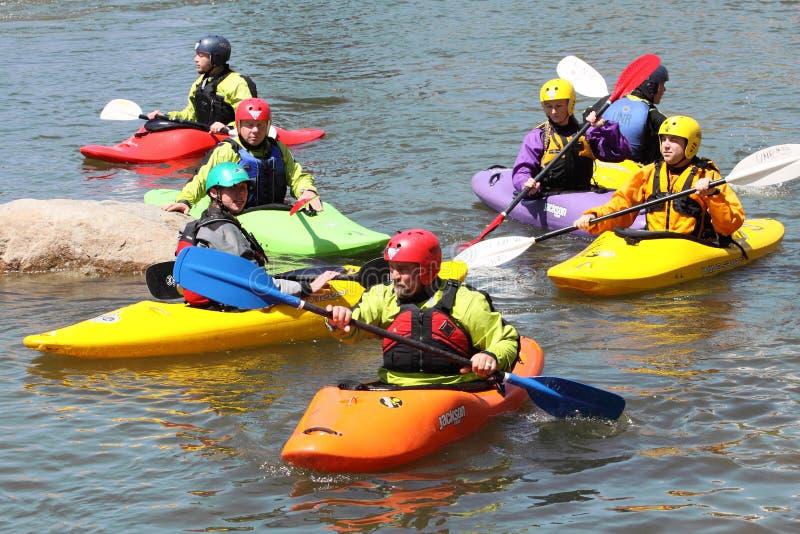 9 2009年节日可以里诺河 库存图片