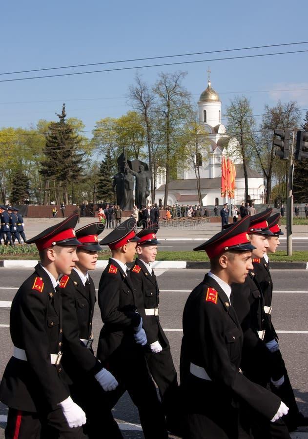 9 2009 могут пройти парадом vladimir победы стоковое изображение rf