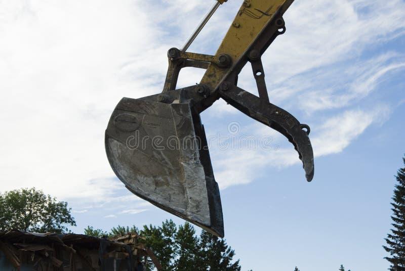 9 building demolition στοκ φωτογραφία