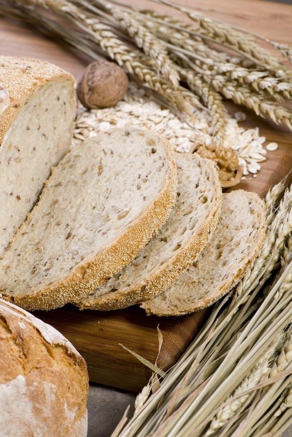 9 chlebowa ziarna fotografia stock