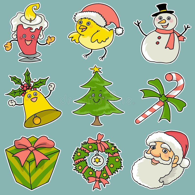 Free 9 Christmas Icons Stock Images - 14861114
