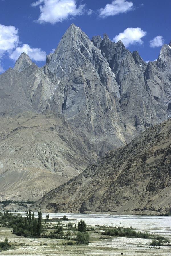 9 gór Pakistan obraz royalty free