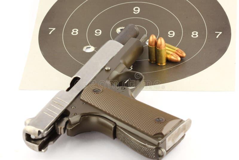 9 mm pistolecik fotografia royalty free