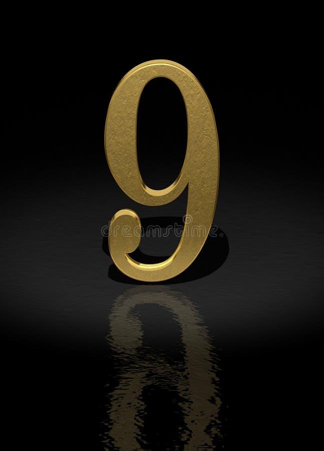 9 numerów ilustracji