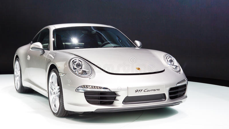 911 carrera Porsche στοκ φωτογραφία