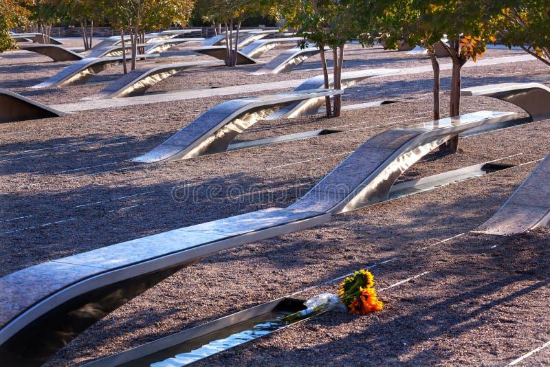911 de herdenkingsAanval Virginia Washington van het Pentagoon van Slachtoffers stock foto's
