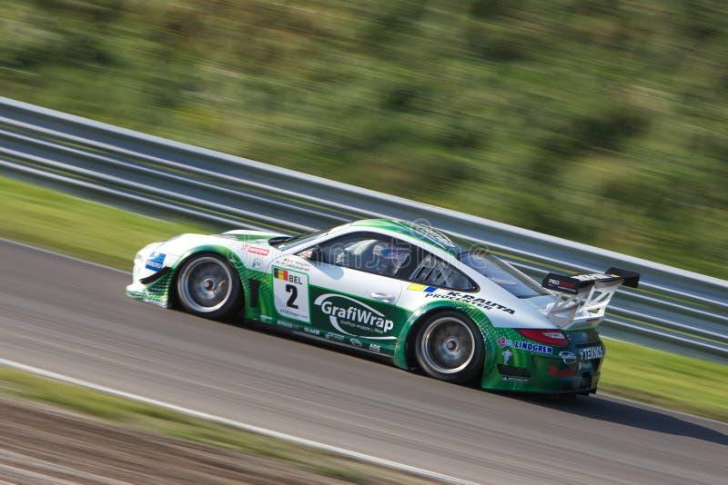 911 gt3 Porsche ρ στοκ εικόνες με δικαίωμα ελεύθερης χρήσης