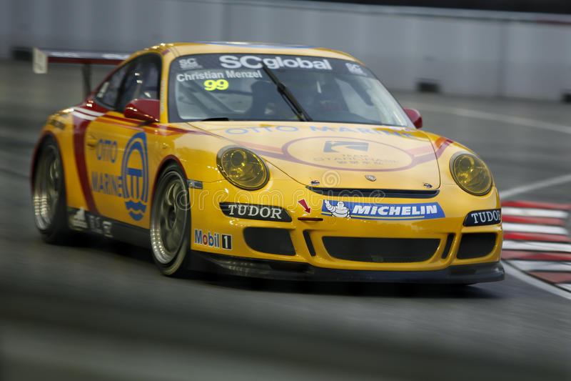 911 gt3 Porsche στοκ φωτογραφία με δικαίωμα ελεύθερης χρήσης