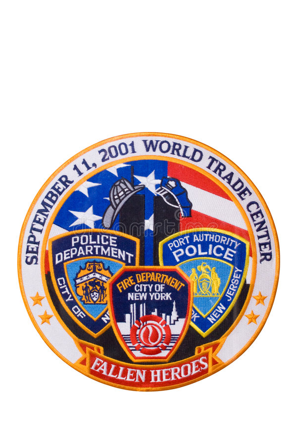 Free 911 Tribute Patch (isolated) Royalty Free Stock Images - 6693189