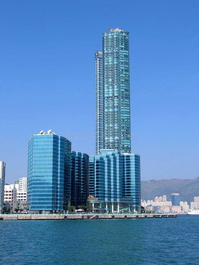 9352 skyskrapor royaltyfria foton