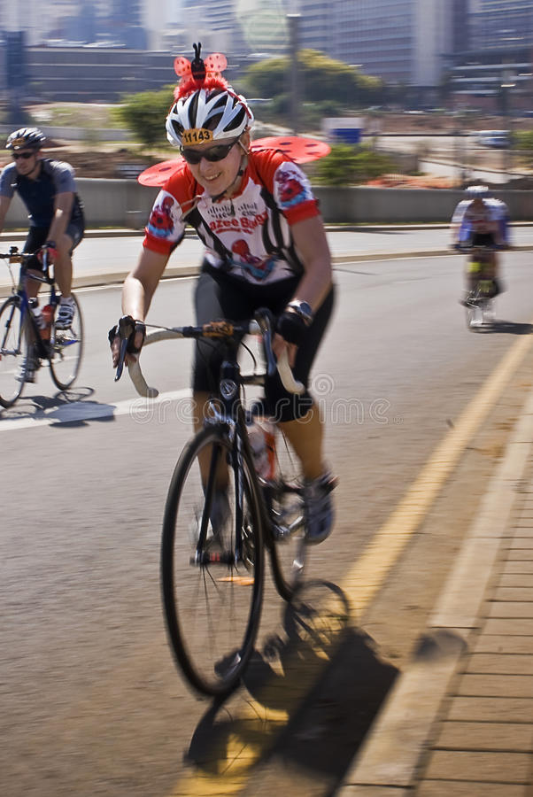 94.7 desafío del ciclo - 2010 fotografía de archivo libre de regalías