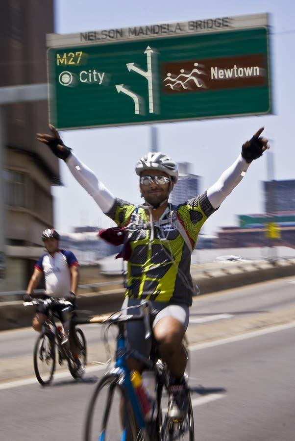94.7 enjeu de cycle - 2010 photo libre de droits