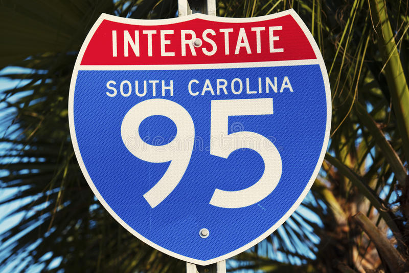 95 tusen staten in Zuid-Carolina royalty-vrije stock foto's