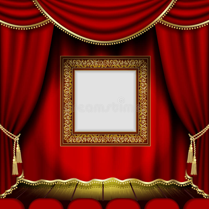 Download 96Frame stock vector. Image of backdrop, nobody, frame - 27196012