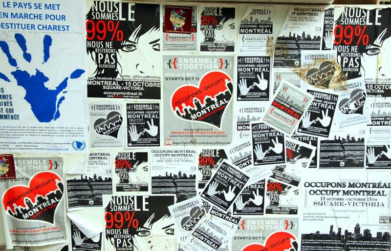 Download 99% Occupy Movement Board Editorial Image - Image: 21865295