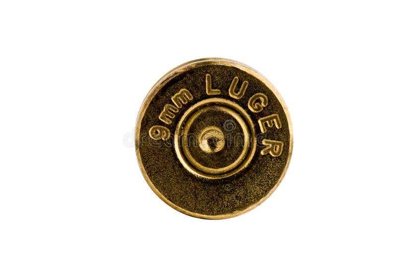 9mm casing skal arkivbilder