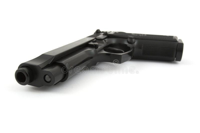 Download 9mm handgun stock photo. Image of protection, automatic - 3945672