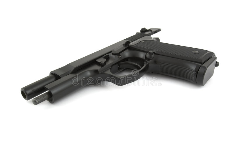 Download 9mm handgun stock photo. Image of protection, protect - 3948660