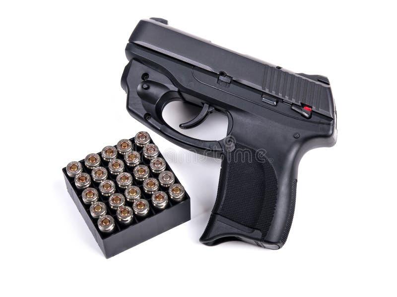 Download 9mm Handgun & Ammo stock image. Image of modern, service - 28429405